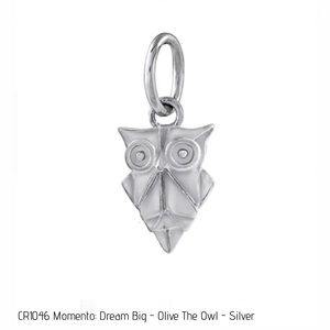 ORIGAMI OWL 🤍 CORE Olive the Owl Charm Pendant